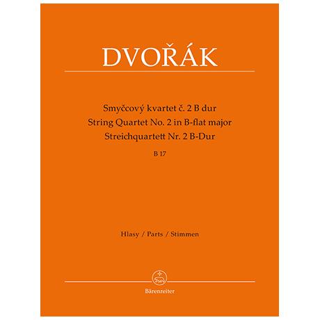 Dvořák, A.: Streichquartett Nr. 2 B-Dur