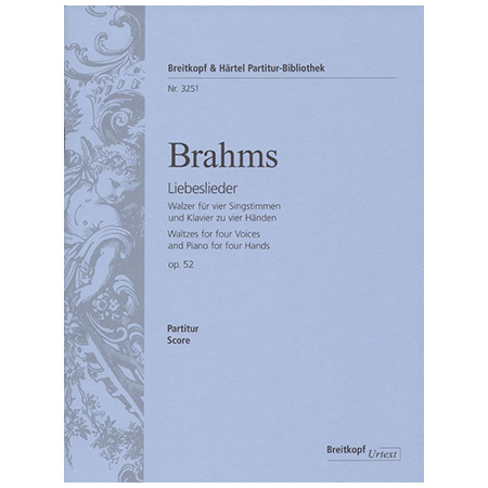 Brahms, J.: Liebeslieder Op. 52
