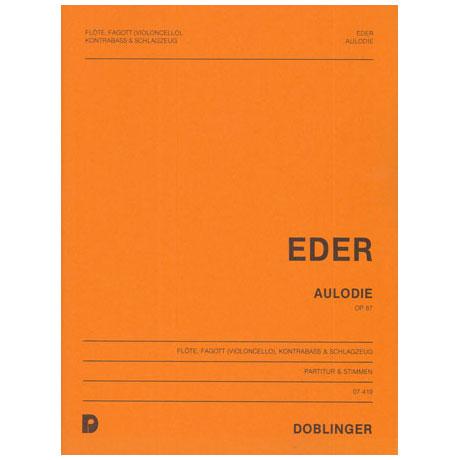 Eder, H.: Aulodie Op.87