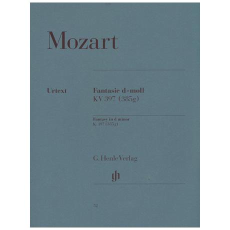 Mozart, W. A.: Fantasie d-Moll KV 397