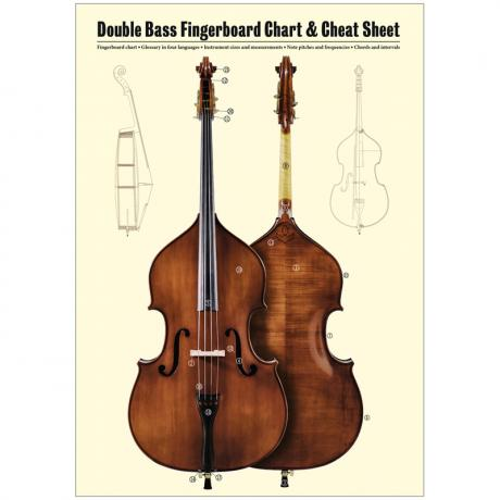 Lohse, J.: Double Bass Fingerboard & Cheat Sheet