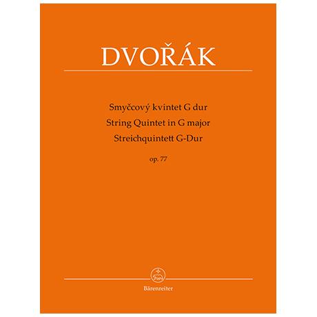 Dvořák, A.: Streichquintett Op. 77 G-Dur
