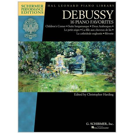 Debussy, C.: 16 Piano Favorites