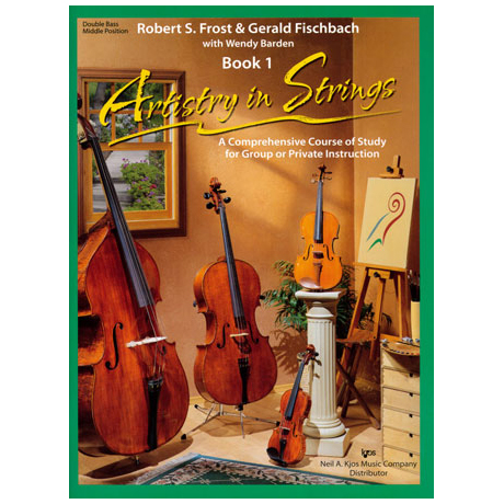 Frost/Fischbach: Artistry in Strings Band 1 (ohne CD)