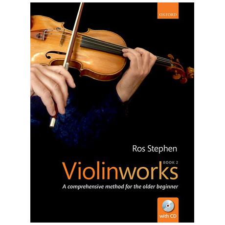 Stephen, R.: Violinworks 2 (+CD)