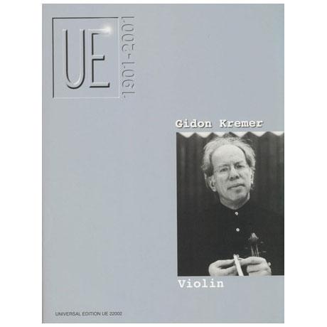 UE Jubiläum – Violin: Gidon Kremer