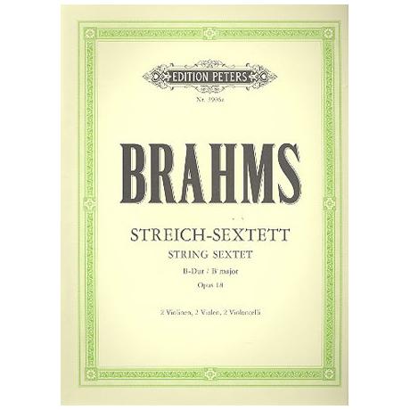 Brahms, J.: Streichsextett Nr. 1 Op. 18 B-Dur