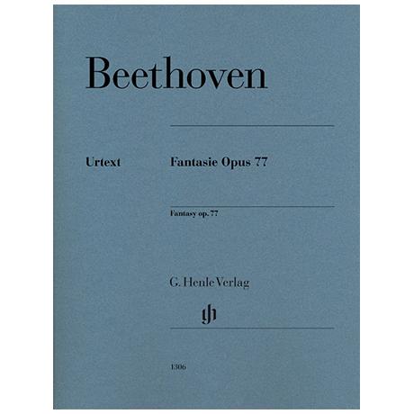 Beethoven, L. v.: Fantasie Op. 77