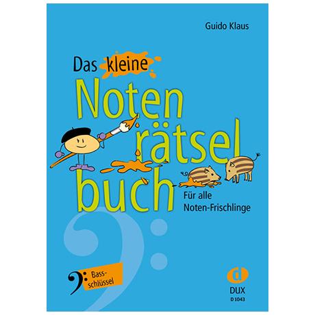 Klaus, G.: Das kleine Notenrätselbuch (im Bassschlüssel)