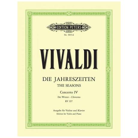 Vivaldi, A.: Violinkonzert Op. 8/4 RV 297 f-Moll »Der Winter«