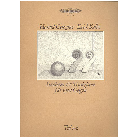 Genzmer, H. / Keller, E.: Studieren und Musizieren Teil 1 und 2