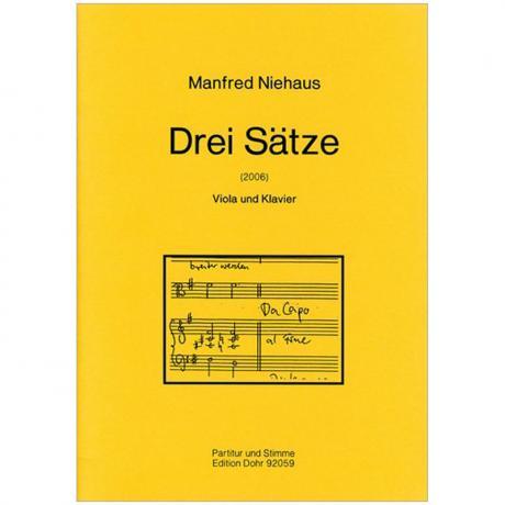 Niehaus, M.: Drei Sätze  (2006)