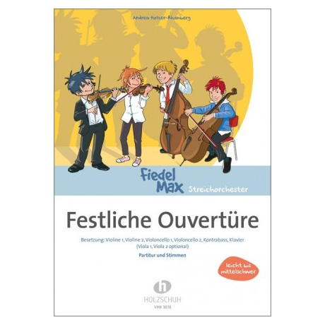 Holzer-Rhomberg, A.: Festliche Ouvertüre