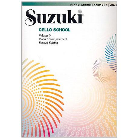 Suzuki Cello School Vol.5 – Piano Accompaniment
