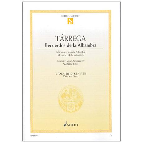 Tarrega, F.: Recuerdos de la Alhambra