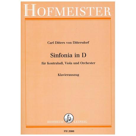 Dittersdorf, K. D. v.: Sinfonia concertante D-Dur