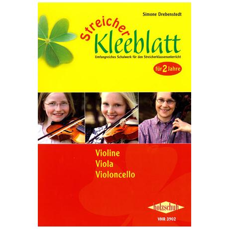 Streicher Kleeblatt - Schülerband für Violine, Viola, Violoncello