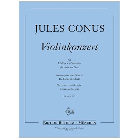 Conus, J.: Violinkonzert e-Moll