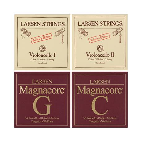 LARSEN Magnacore cello strings SET