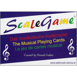 Scalegame - Das musikalische Kartenspiel