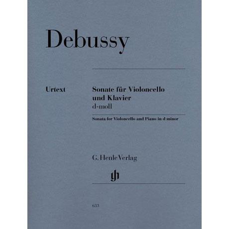 Debussy, C.: Violoncellosonate d-Moll