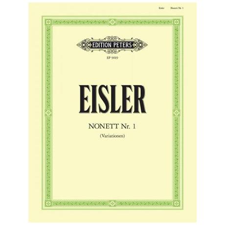 Eisler, H.: Nonett Nr. 1 (Variationen)