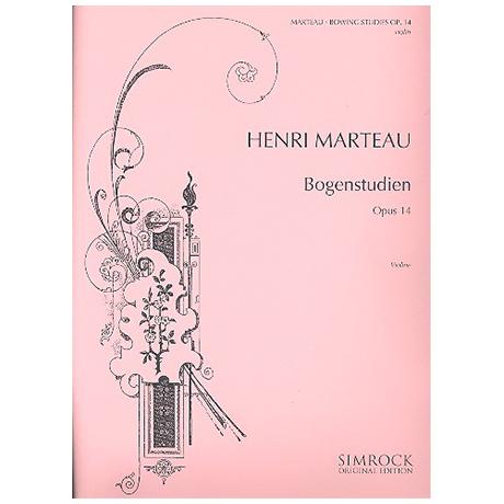 Marteau, H.: Bogenstudien Op. 14