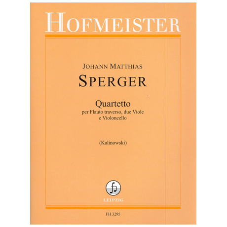 Sperger, J.M.: Quartetto
