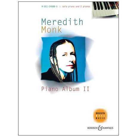 Monk, M.: Piano Album II