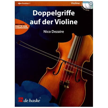 Dezaire, N.: Doppelgriffe auf der Violine (+2CDs)