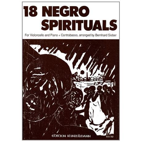 Sieber, B.: 18 Negro Spirituals
