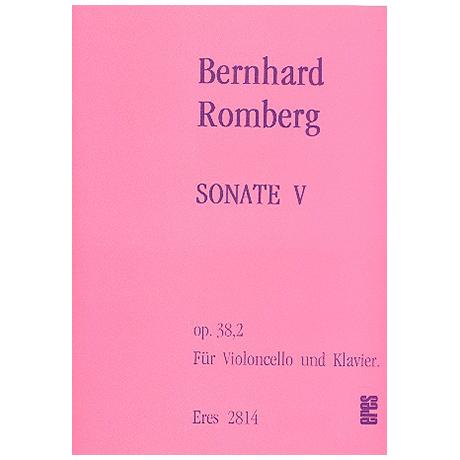 Romberg, B. H.: Sonate Op. 38/2 G-Dur