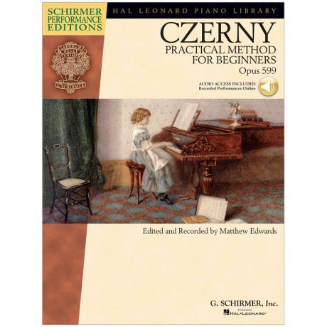 Czerny, C.: Erster Lehrmeister Op. 599 (+Online Audio)