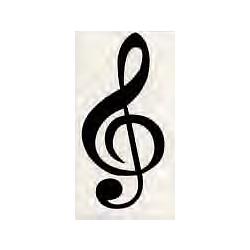 Aufkleber MUSIC