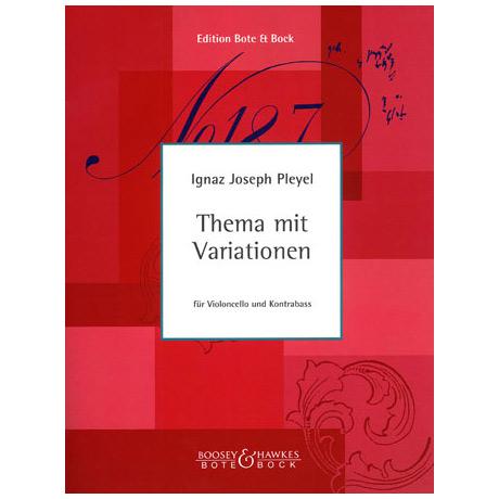 Pleyel, I. J.: Thema mit Variationen
