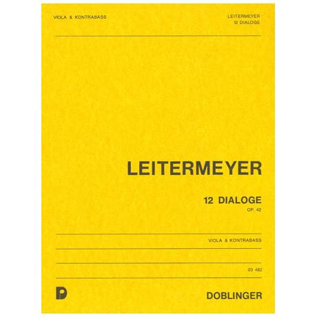 Leitermeyer, F.: Zwölf Dialoge Op.42