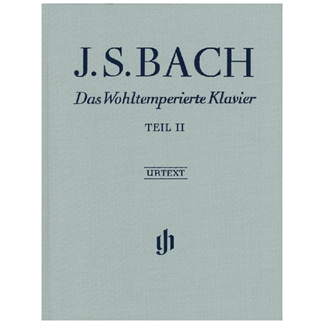 Bach, J.S.: Das Wohltemperierte Klavier Teil II