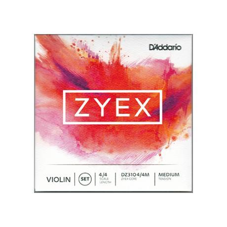 D'ADDARIO Zyex Violinsaite D