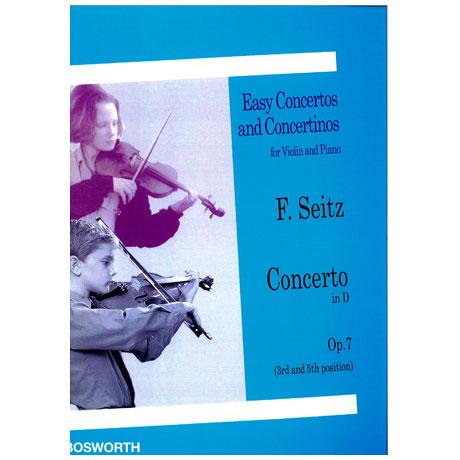 Seitz, F.: Violinkonzert Op. 7 D-Dur
