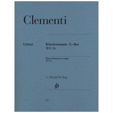 Clementi, M.: Klaviersonate G-Dur WO 14