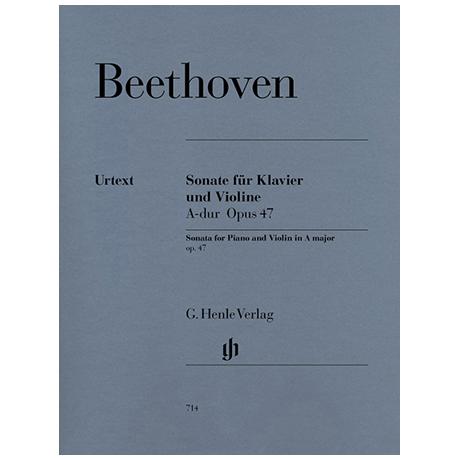 Beethoven, L.v.: Sonate A-Dur Op. 47