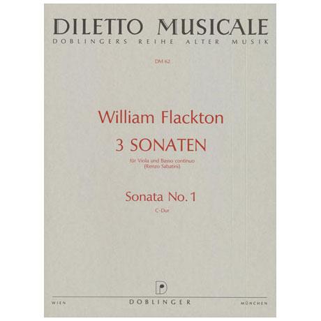 Flackton, W.: Sonate 1 C-Dur