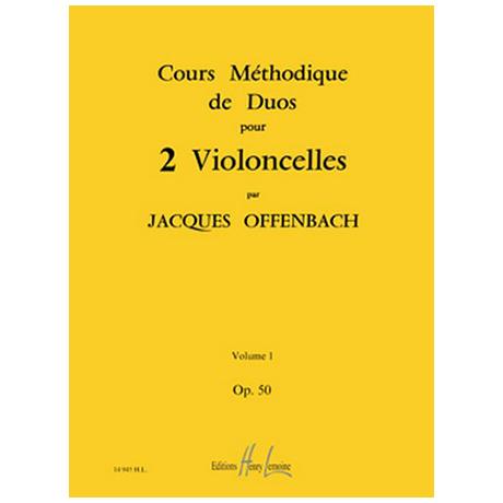 Offenbach, J.: Cours Méthodiques Op. 50 Bd. 1