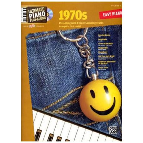 Ultimate Piano Play-Along - 1970s (+CD)