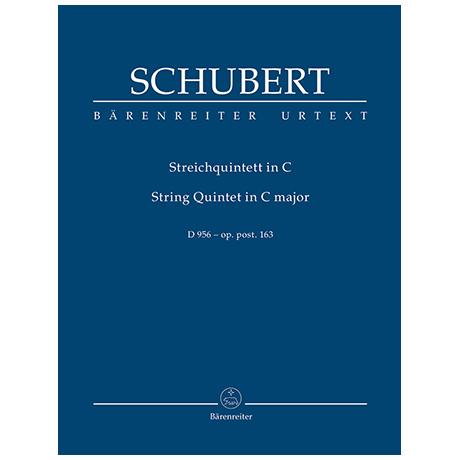Schubert, F.: Streichquintett C-Dur Op. post.163 D 956
