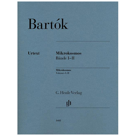 Bartók, B.: Mikrokosmos Bände I-II