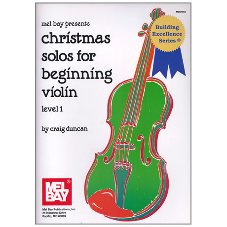 Duncan, C.: Christmas Solos for Beginning Violin Level 1