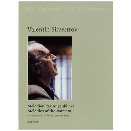 Silvestrov, V.: Melodien der Augenblicke