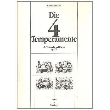 Kratochwil, H.: Die 4 Temperamente
