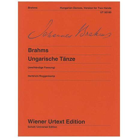 Brahms, J.: Ungarische Tänze WoO1 (2-händige Fassung)